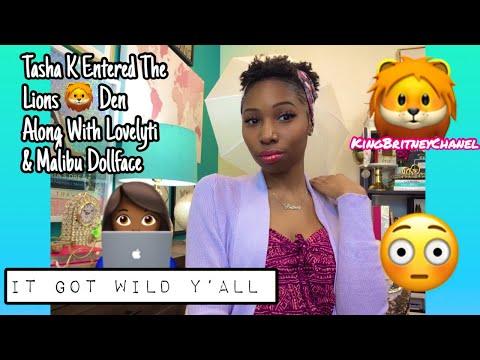 Tasha K Entered The Lions 🦁 Den Along With Lovelyti & Malibu Dollface