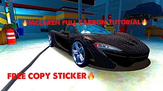 Car parking multiplayer Full carbon fiber car tutorial