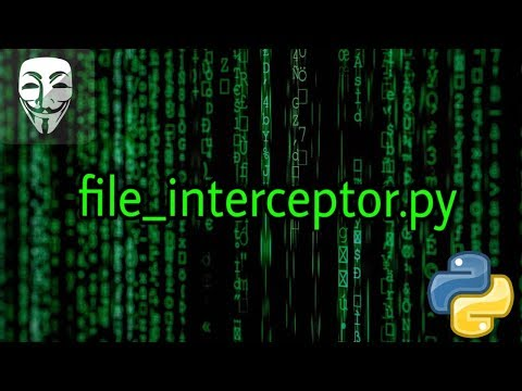 Coding - File Interceptor In Python  | Offensive Python Tutorial 10 thumbnail