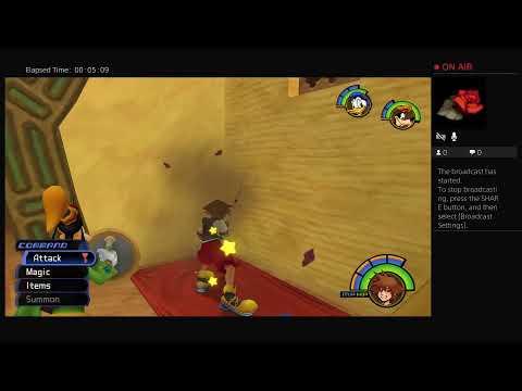 Kingdom Hearts (Hocus-pocus finding this Game's Focus  