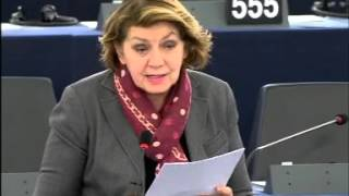 Intervento in aula di Caterina Chinnici sulla prevenzione del reclutamento di cittadini europei da parte delle organizzazioni terroristiche