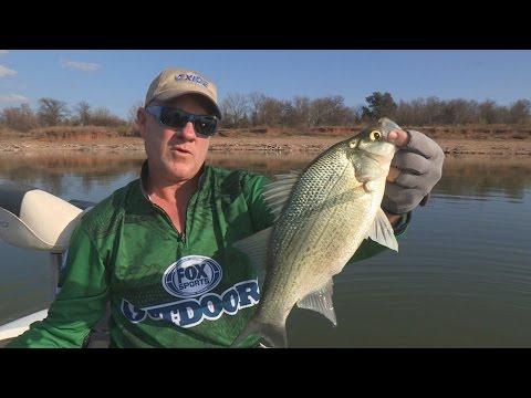 FOX Sports Outdoors SOUTHEAST #1 - 2015 Brazos River Texas White Bass Spawning Run