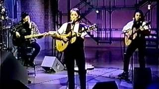 JOAN BAEZ:  David Letterman Show December 10, 1992.  Stones in the Road