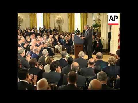 President Bush comment on CIA prisoners