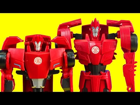 Transformers Robots In Disguise Sideswipe Collection With Surprise Mystery Transformers bumblebee