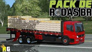 MEGA PACK DE SKINS DE RODAS BR PARA WORLD TRUCK DRIVING SIMULATOR