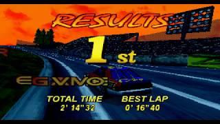 [TAS/4K] (SAT) Daytona USA Circuit Edition - Hard Arcade - ThreeSeven Speedway in 2:14.32