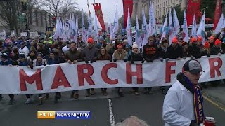 Tens of thousands attend March for Life, Pence speaks - ENN 2019-01-18