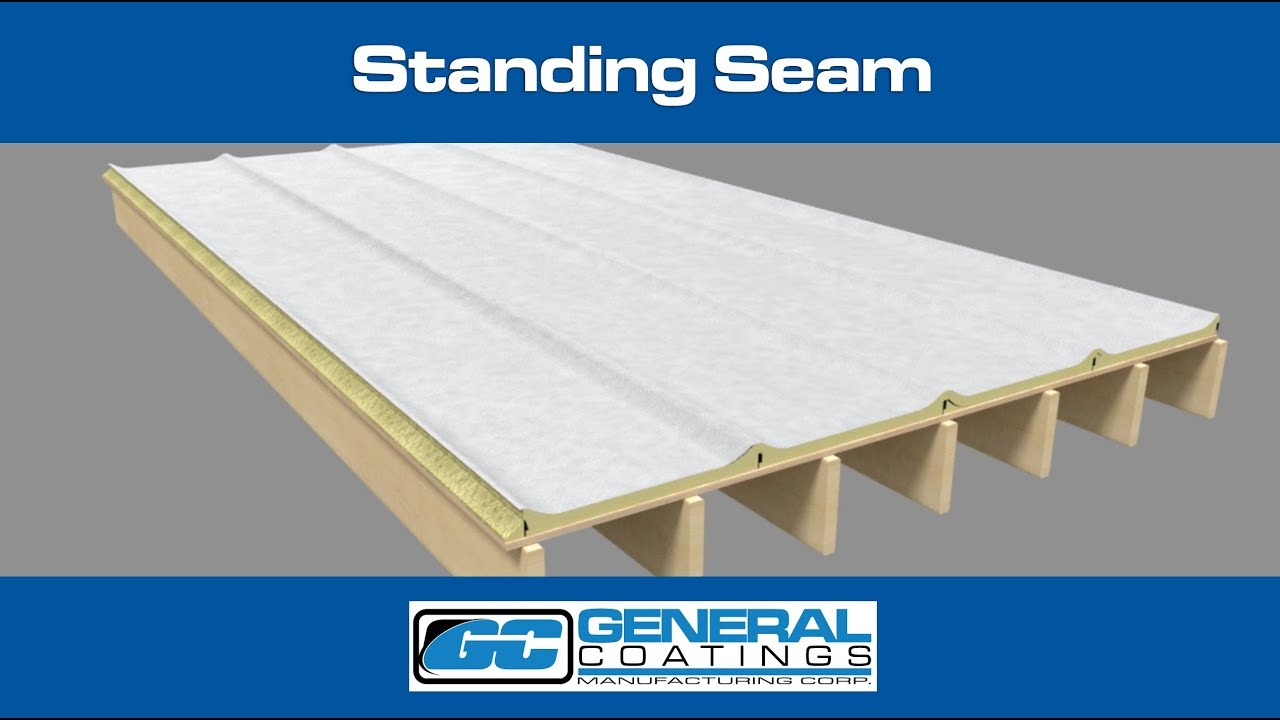 Spray Foam Detail - Standing Seam