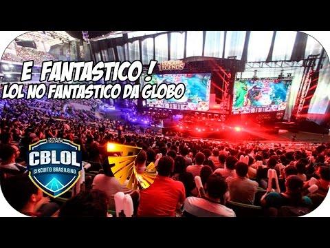 CBLOL no Fantastico! [Rede Globo] Final CBLOL 2015 reune 12 mil torcedores