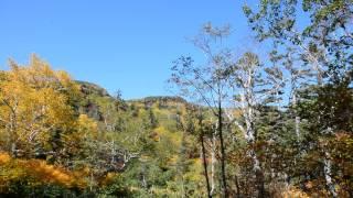 2015 September 22 大雪山高原山荘 早くも紅葉が見られる