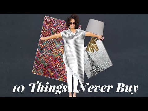 10 Things You Should Never Buy (Home Decor)