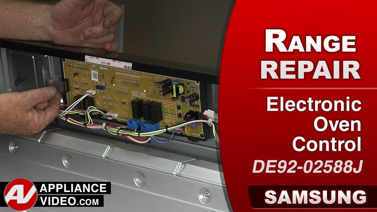 samsung stove range e 0a error code electronic oven control rh youtube com