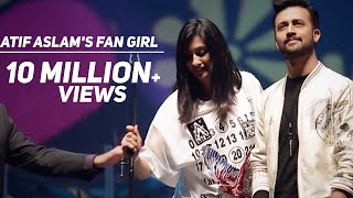 Fan Girl Not Letting Go of Atif Aslam During Concert in Dubai