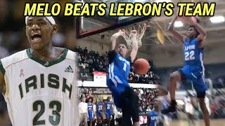 LaMelo Ball Takes Down LEBRON'S High School! Melo Struggles But Spire Gets The BIG DUB 🔥