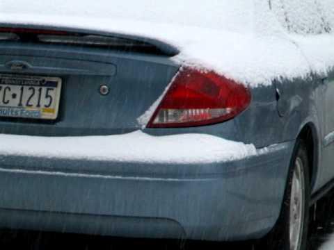 Nieve en Printing Industries of america en Pittsburgh PA USA.AVI