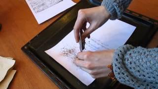 Как сделать винтажную бумагу для декупажа своими руками