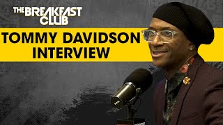 Tommy Davidson Discusses Rough Childhood, Considers Himself The Michael Jordan Of Comedy + More