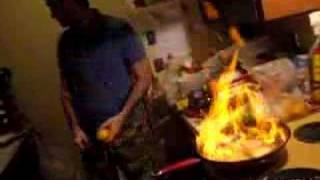 greek flaming saganaki