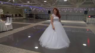 Невеста поет Рэп, подарок мужу на свадьбу