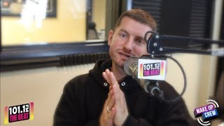 Marc E. Bassy interview w/APZ & Hustlina of The Wake Up Crew #AZTHEBEAT