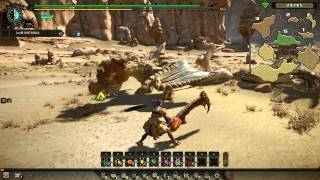 怪物猎人OL Monster Hunter Online (MHO) Chramine Gameplay