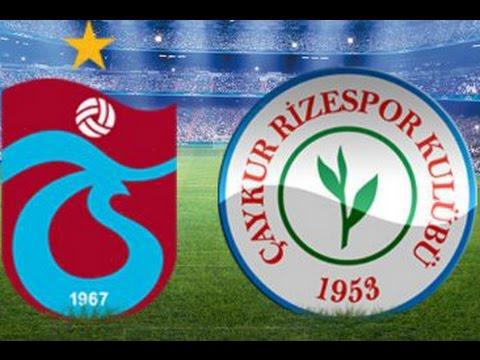 Trabzonspor Çaykur Rizespor Maçı ne zaman saat kaçta hangi gün