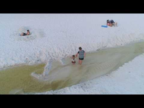 Panama City Beach Drone shots on the beach 4