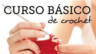 CLASE 2: Punto Bajo (SINGLE CROCHET) - Curso Básico de crochet para Principiantes thumbnail