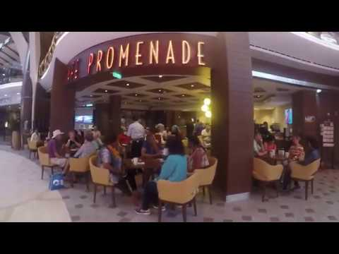 Harmony of The Seas Royal Promenade / Shops Cafes Bars Royal Promenade Harmony