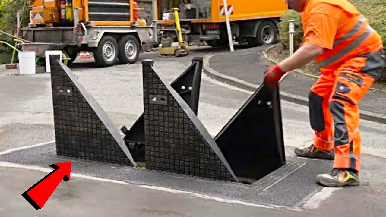 देखिये अमेरिका की सड़कों पर इसे क्यों लगाया जाता है Fastest Road Construction Clean Equipment