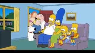 Simpsons Theme Song with Family Guy
