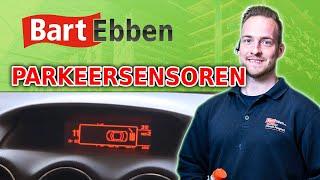 Citroen Peugeot parkeersensoren achterbumper en display testen