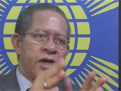 Jamaica Prime Minister visits Commonwealth Secretariat