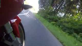 GoPro Hero3+ Black Edition on Suzuki TL1000S
