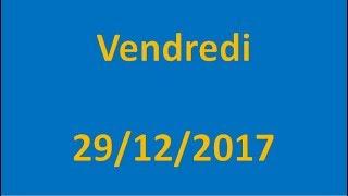 RESULTATS EURO MILLIONS DU 29/12/2017 !