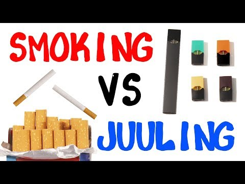 Smoking Or Juuling - What Kills You More?
