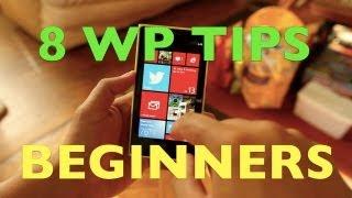 8 Windows Phone Tips for Beginners