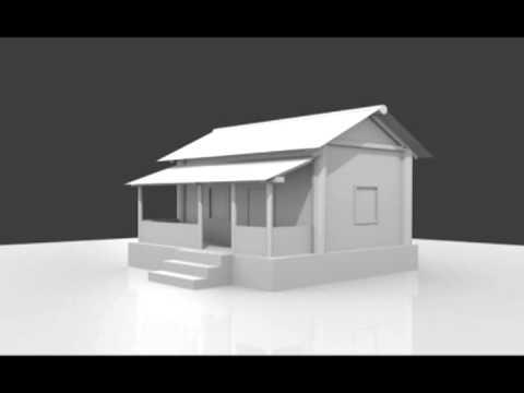 Blender House Modeling