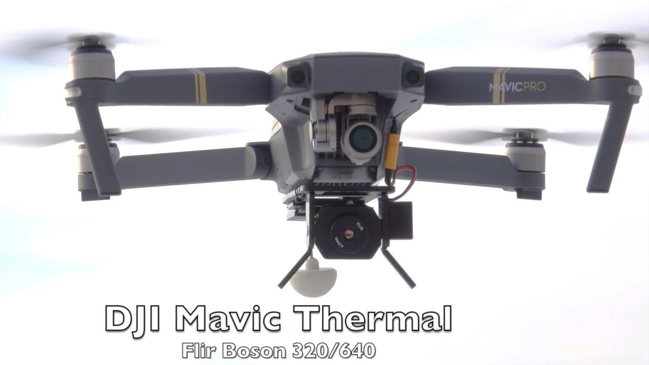 22dc6761eef DJI Mavic, Phantom4 and Inspire2 Thermal camera setup - YouTube