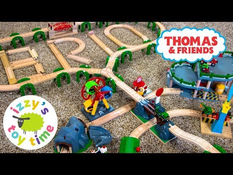 THOMAS AND FRIENDS BRIO ONLY TRACK! Thomas Train with Brio and Imaginarium | Toy Trains for Kids