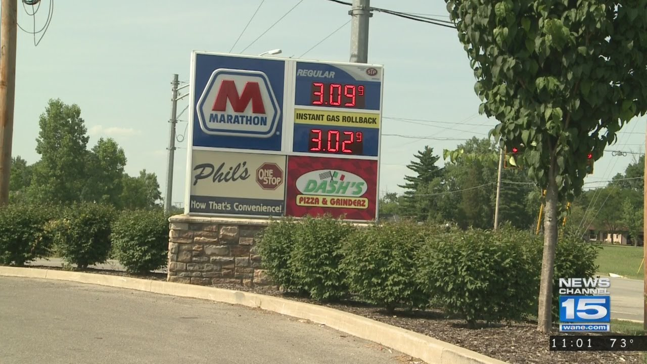 Fort Wayne Gas Prices >> Gas Prices Spike In Fort Wayne