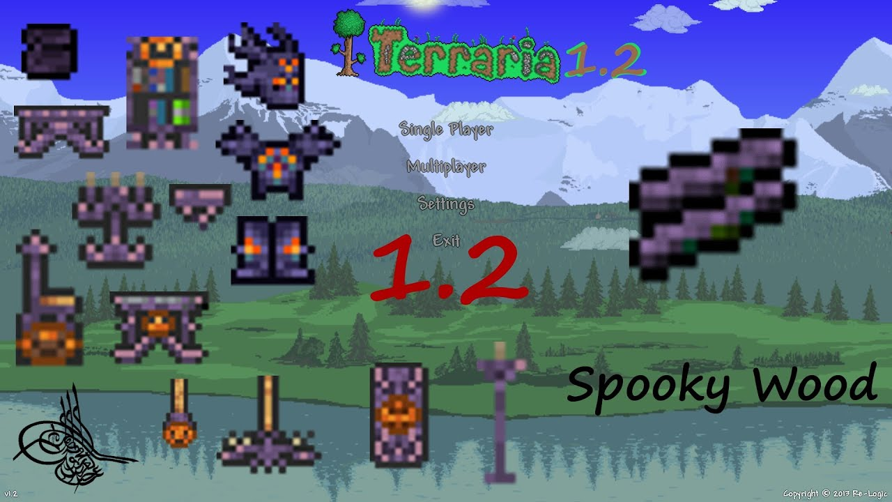 terraria how to get spooky wood