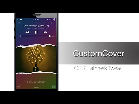 CustomCover gives you a new lock screen theme for your music - iPhone Hacks