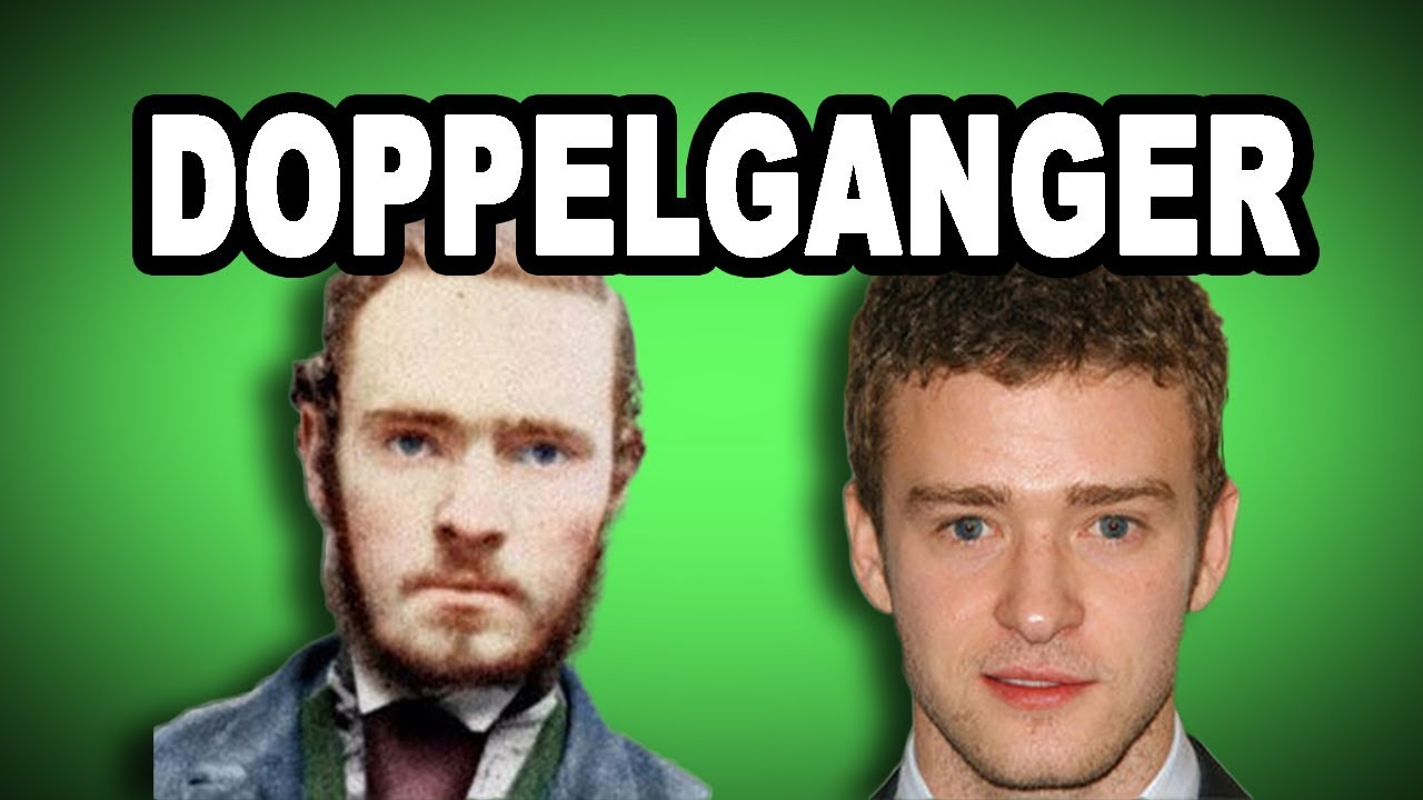 Learn English Words: DOPPELGANGER   Meaning, Vocabulary With Pictures And  Examples