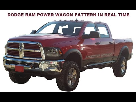 dodge-ram-power-wagon-scroll-saw-pattern-in-real-time
