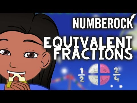 Equivalent Fractions Song: Online School Videos For Kids