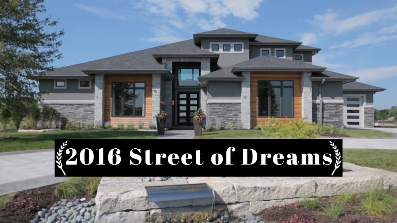 2016 Street Of Dreams Home 1 Youtube