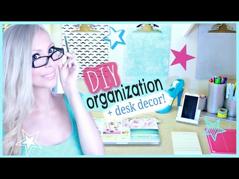 Diy Organization Desk Decor Ideas