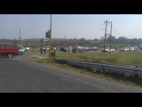 Ladysmith under complete siege by taxi protest